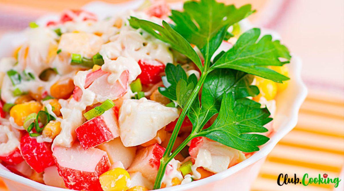 Simple Crab Salad Recipe Mayonnaise