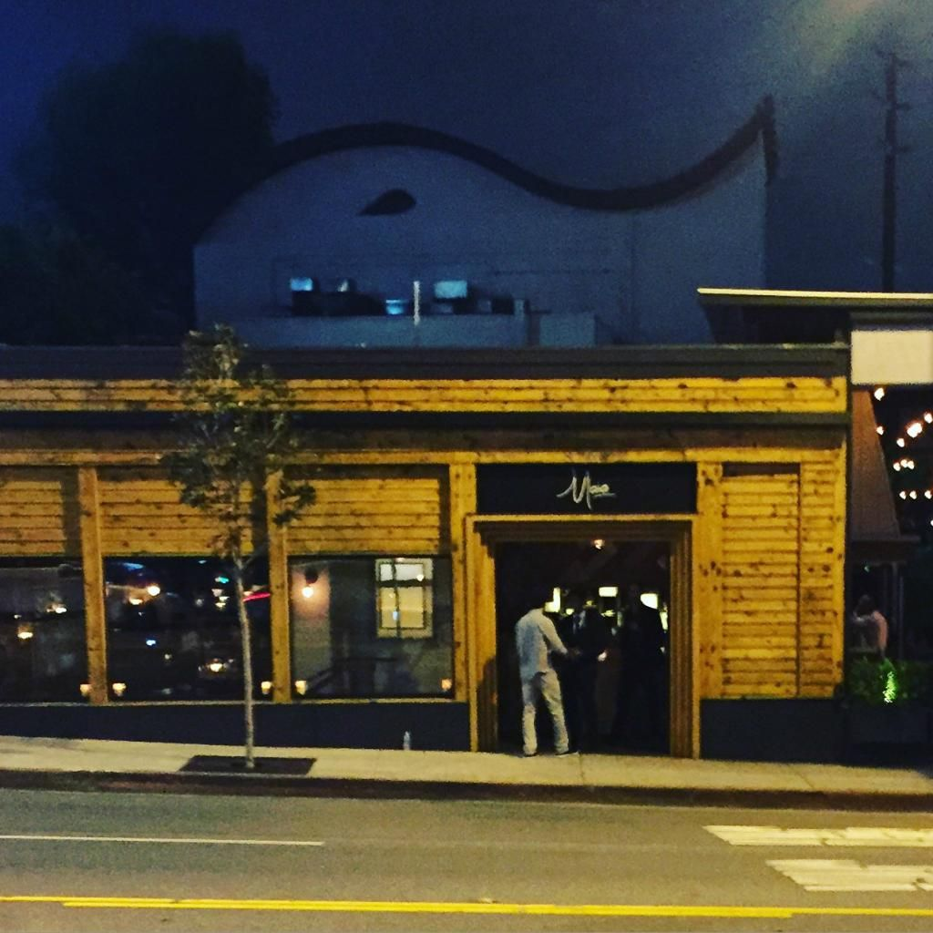 The recently opened Maia Restaurant on the Sunset Strip in