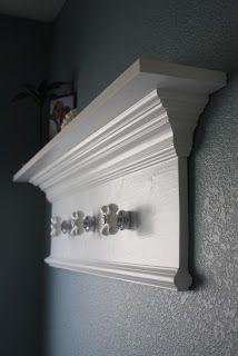 AsSimpleAsICanBe: Custom Bathroom Shelf / Towel Rack