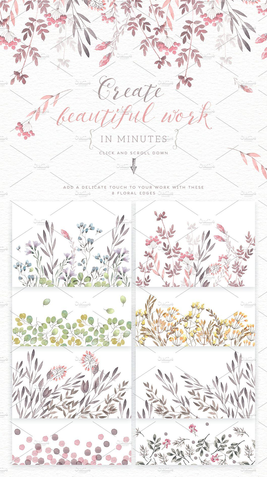 Floral pattern sharon ann creatives pinterest pattern illustration