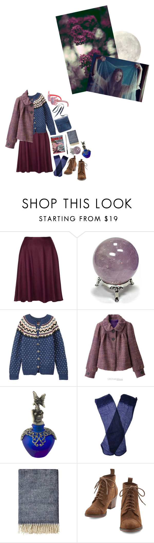 """""""Luna Lovegood ~"""" by this-perfect-dream on Polyvore featuring Topshop, Luna, Trasparenze, By Nord, Madewell, harrypotter, ravenclaw and lunalovegood"""