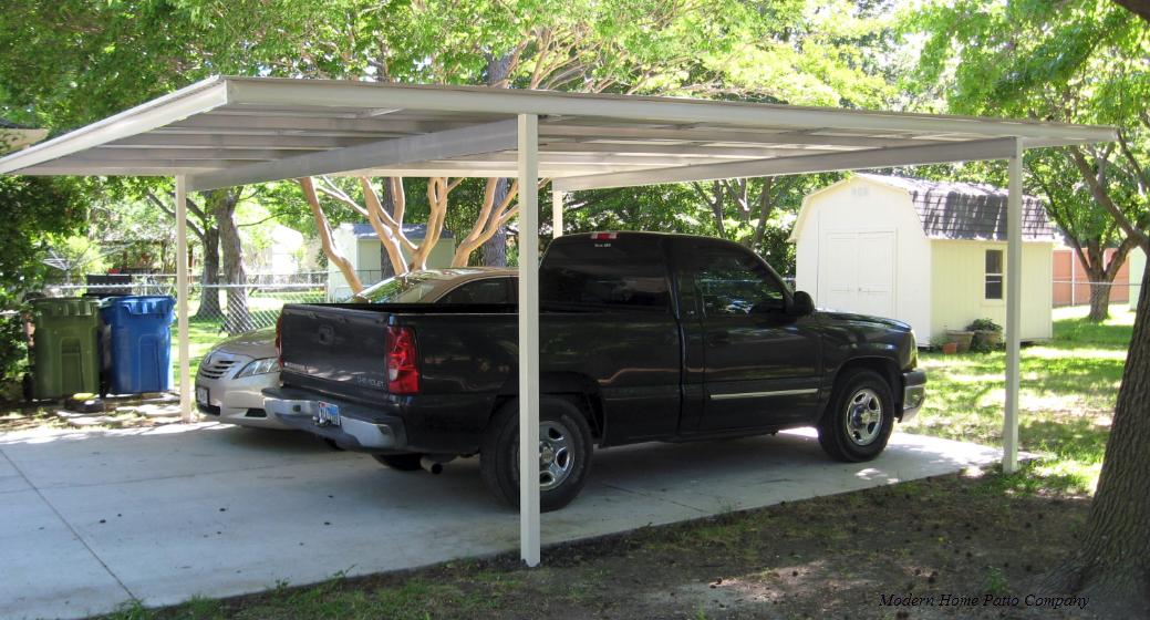 Double Freestanding Carport 20x20 Modernhomepatio Com Carport