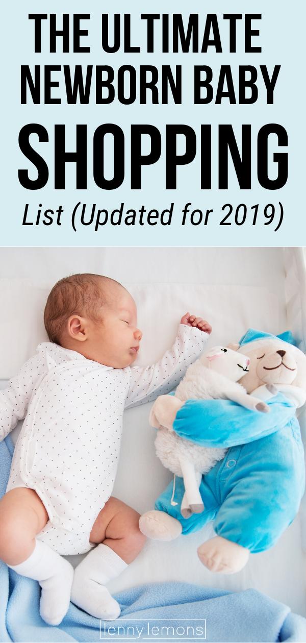 The Ultimate Newborn Baby Shopping List Updated For 2019 Newborn Baby Shopping Baby Shopping List Gifts For Newborn Boy