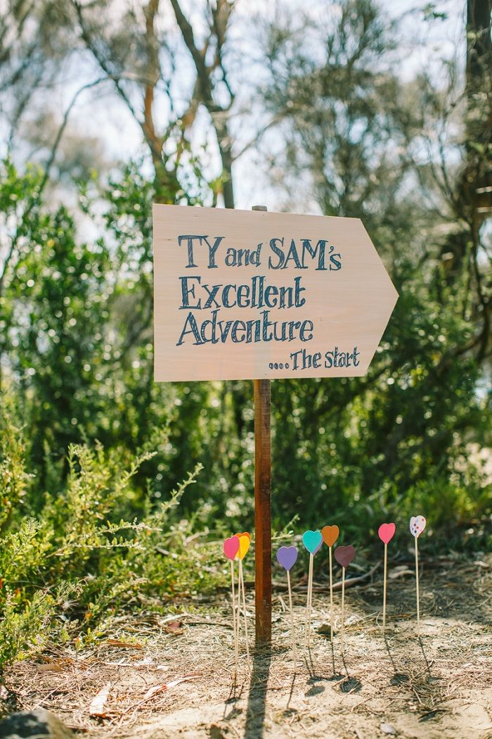 Beach Wedding sign | I take you #weddingsign