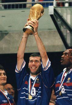 Zinedine Zidane World Cup Wins