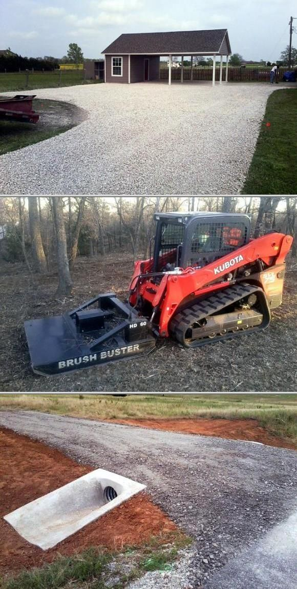 Gravel Driveway Grading Clearing Drainage Gravel Driveway Drainage Gravel