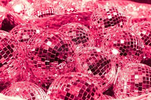Disco Fever! Pink Disco Balls #pinklove #disocball #hotpink http://www.pinterest.com/TheHitman14/hey-ladies-pink-love-%2B/
