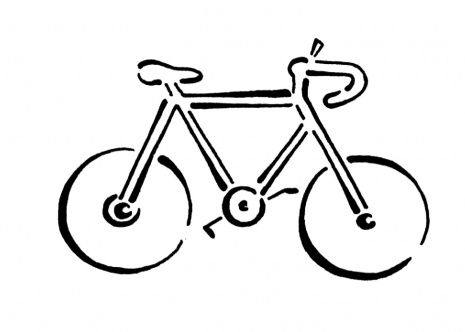 Bicycle Coloring Page Bicycle Coloring Pages Bicycle Party
