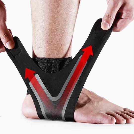 ADJUSTABLE ELASTIC ANKLE SLEEVE Support Sports Gear