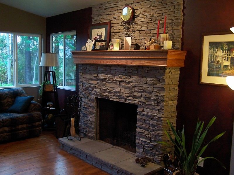 Wrap around mantel Fireplace Remodel Pinterest See more
