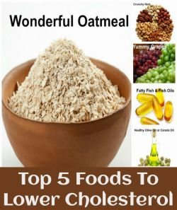 Top 5 Foods To Lower Cholesterol 100%