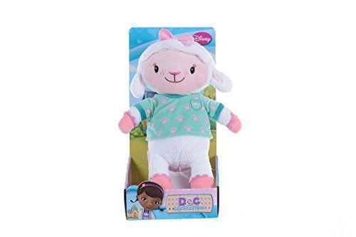 Doc Mcstuffins 10 Inch Pet Vet Lambie Plush Toy Multi Colour