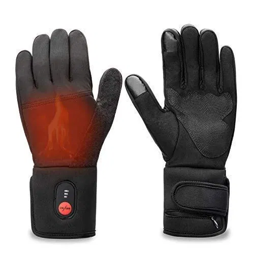 Sun Will Rechargeable Electric Battery Heated Riding Thin Gloves Liners For Men Best Offer For Outdoorfull Com Heated Gloves Glove Liners Gloves