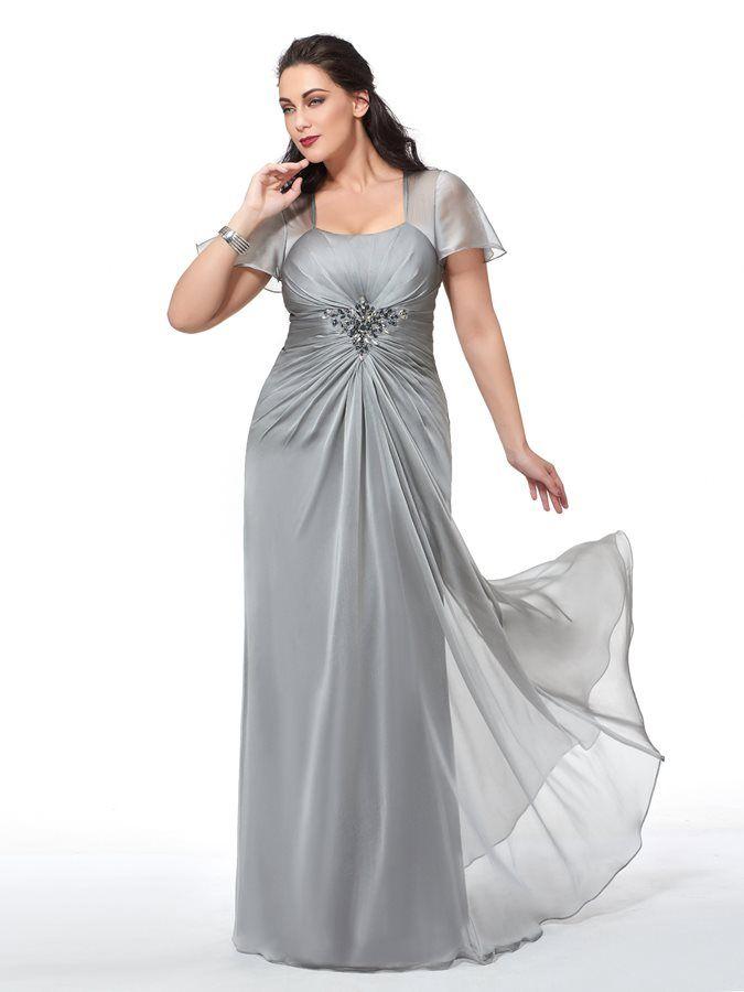 cheap for discount 81a32 0ee53 Abendkleider Lang Große Größen Brautmutterkleider Für ...