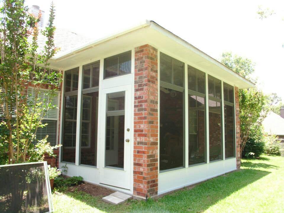Patio Enclosure By Straightline Siding Ltd In Tyler Tx