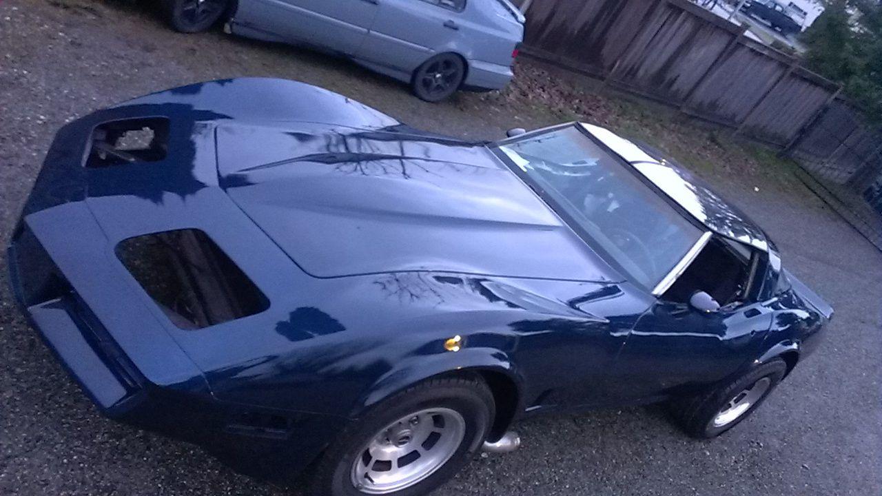 pearlescent blue corvette Google Search Corvette