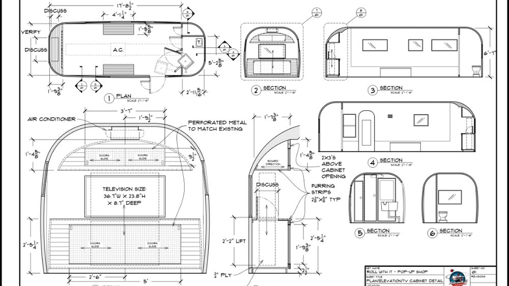 Airstream Blueprints Google Search Airstream