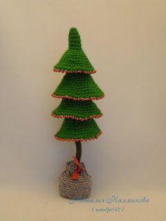 200 схем амигуруми на русском каскадная елка новогодние игрушки