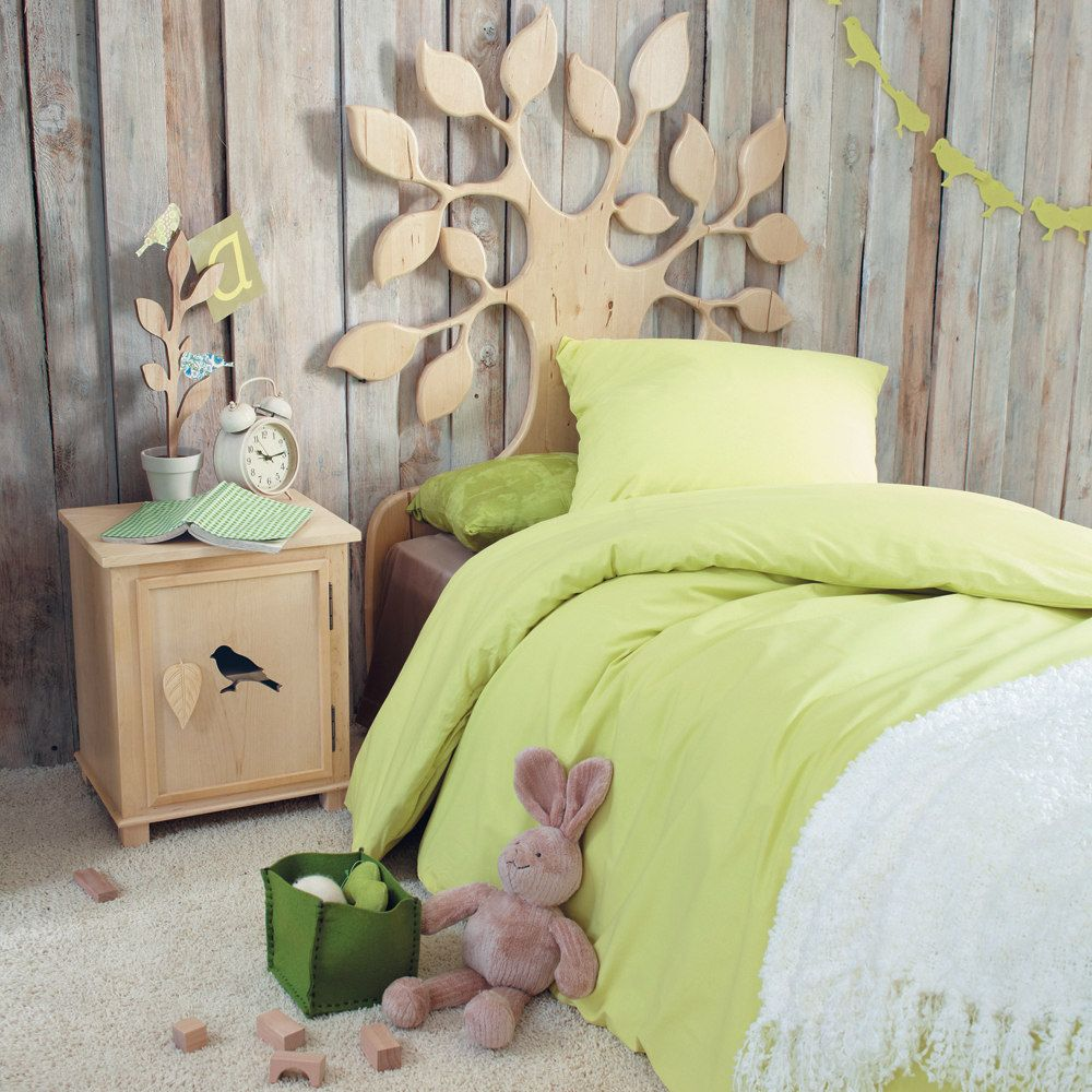 Cabecero de cama infantil nature quarto de menina pinterest