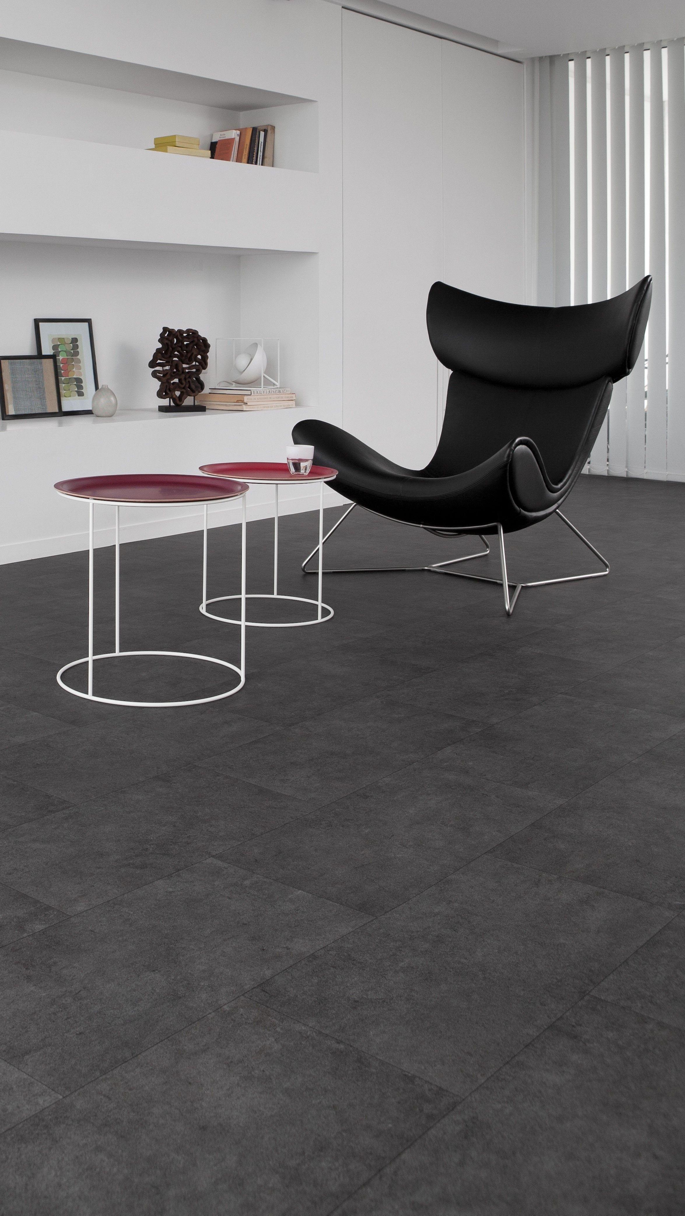 Pvc vloer tegels betonlook geschikt voor alle ruimten zoals de badkamer woonkamer keuken of - Vinyl vloer voor keuken ...