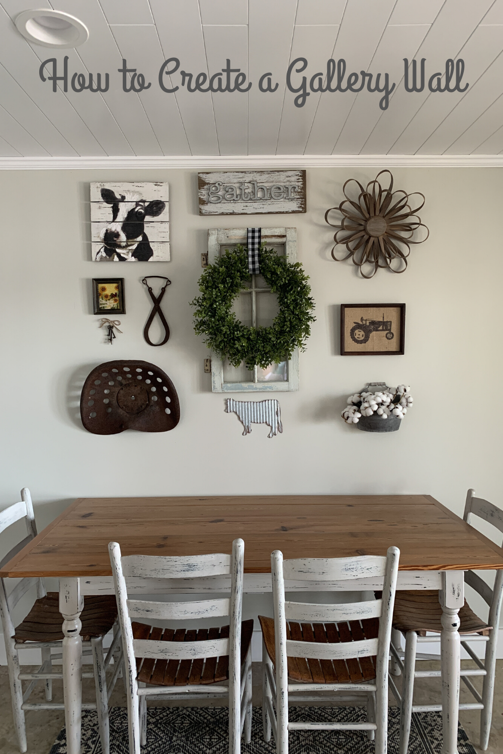 How To Create A Gallery Wall Dinning Room Wall Decor Dining Room Wall Decor Picture Wall Living Room