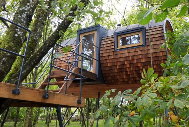 Bower House Construction builds sustainable Treehouse #homeextensions