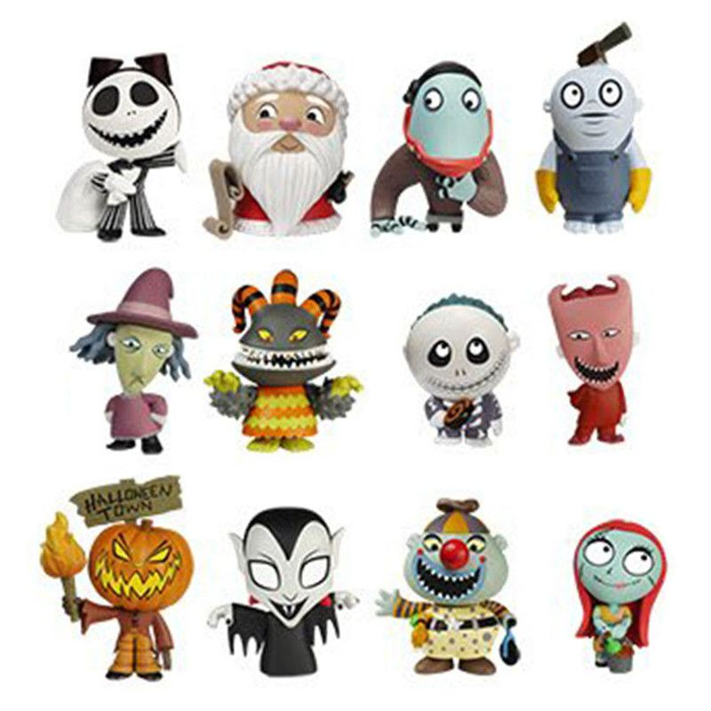 The Nightmare Before Christmas Series 2 Mystery Minis: (1 Blind ...