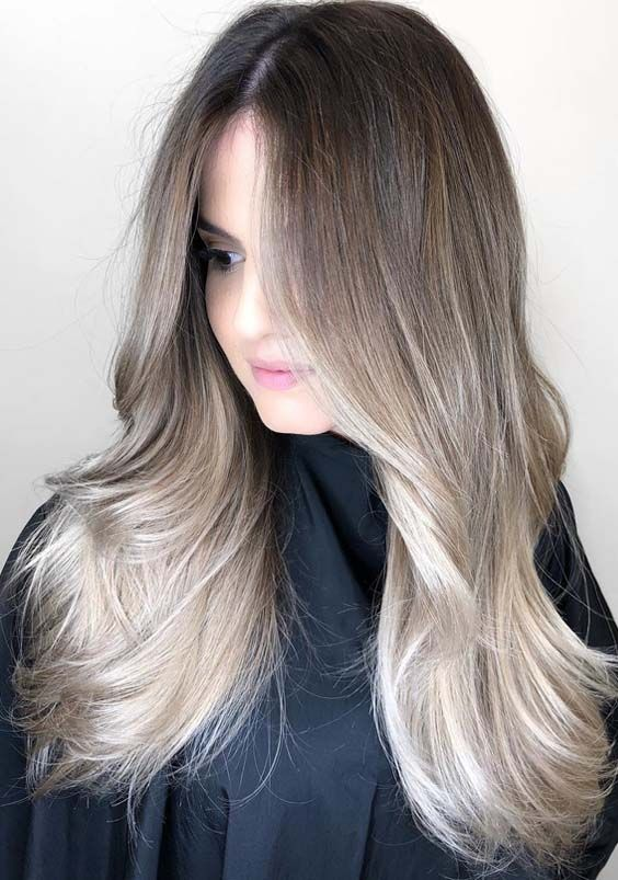 62 Flawless Balayage Highlights For Long Hair In 2018 Stunning