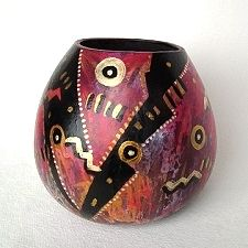 Gourd Art by Gita Landwehr.