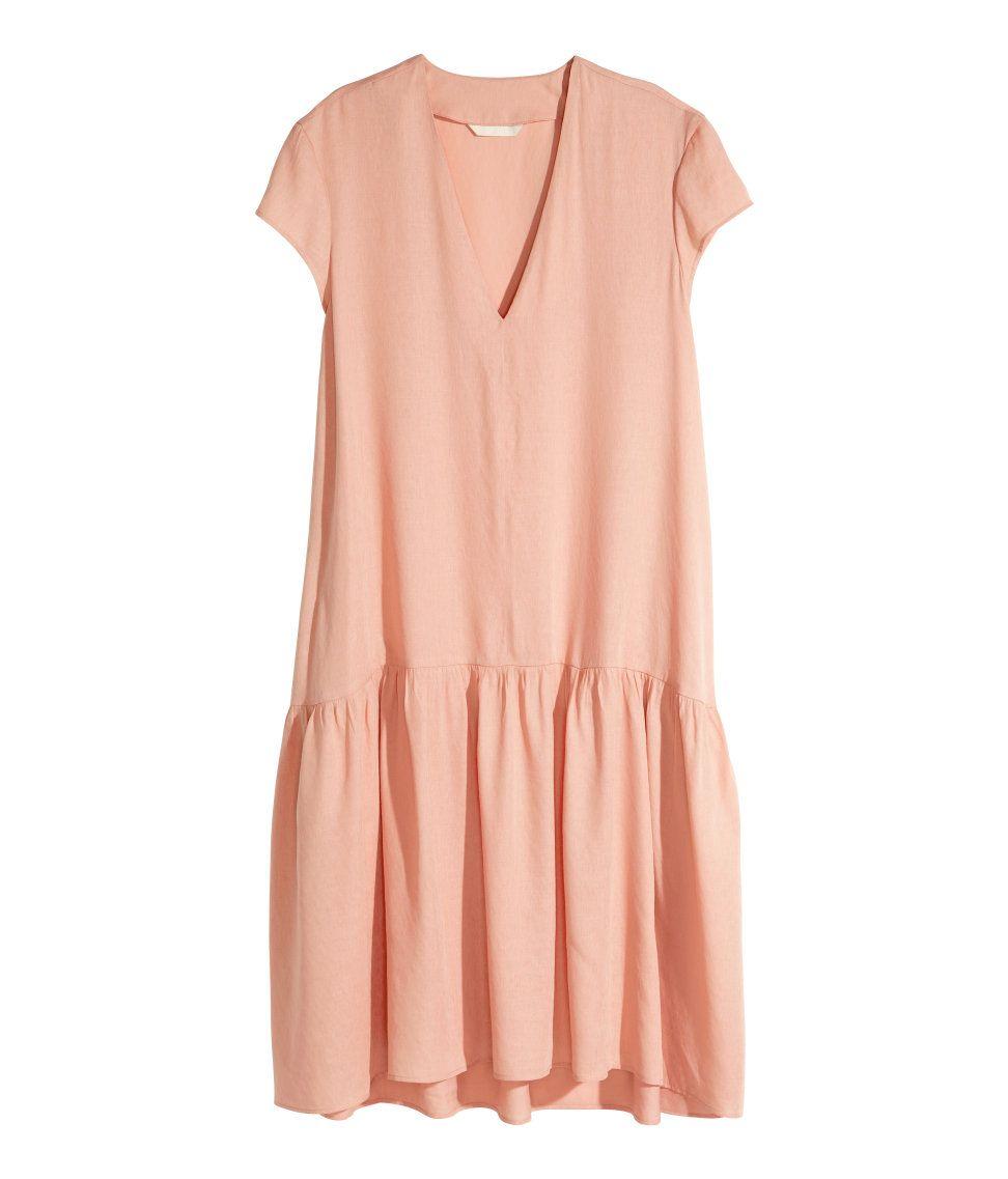 weites Kleid | H&M DE (มีรูปภาพ)