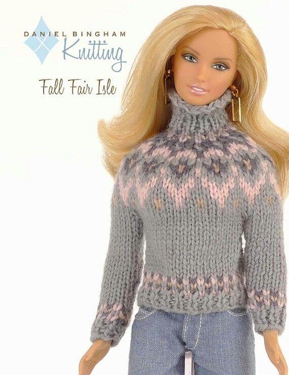 Pin de Susana Flores Céspedes en vestidos tejidos para Barbie y ...