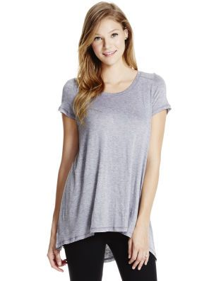 7bbd5dd88cf Motherhood Maternity Jessica Simpson Short Sleeve Side Access Super Soft Nursing  Top