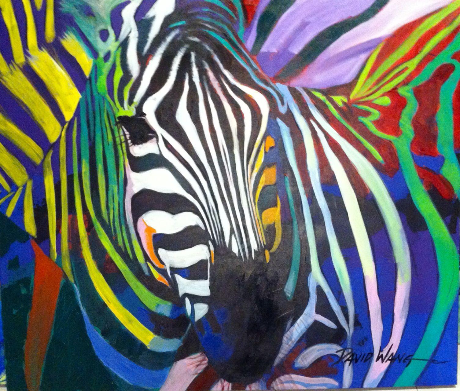 zebra,140x160,Acrílic s/tela