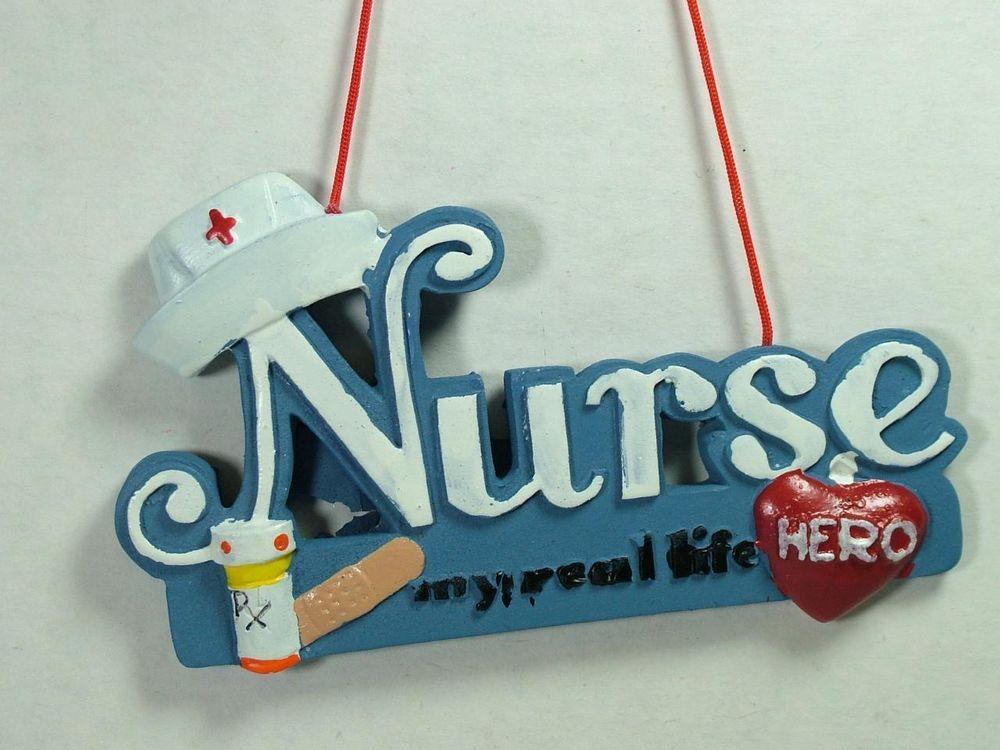 Health care hero ornament