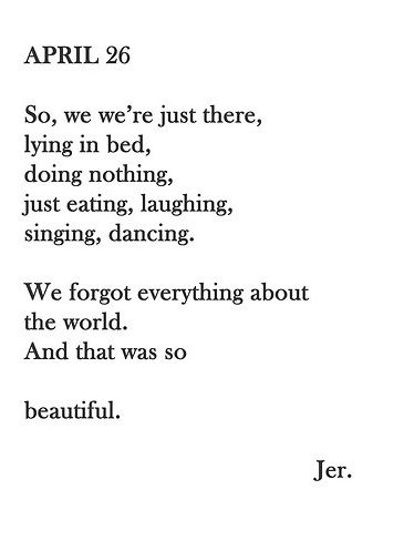 And that was so beautiful.