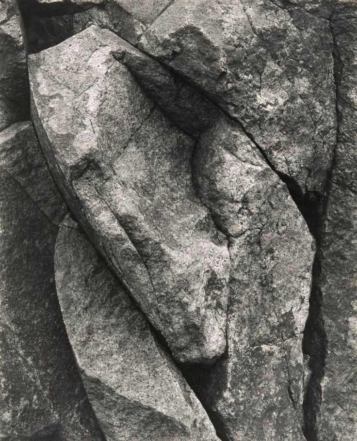 Paul Strand • Rock, Port Lorne, Nova Scotia. 1919 | Framing Nature ...