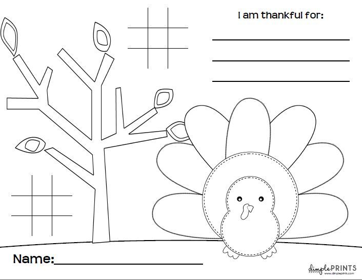 Free printable thanksgiving placemat perfect for the kids table free printable thanksgiving placemat perfect for the kids table pronofoot35fo Images