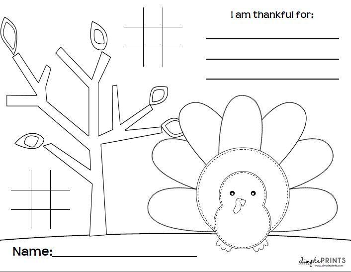 Kids Thanksgiving Placemat Free Print 10 Additional Thanksgiving Ideas Dimple Prints Thanksgiving Kids Thanksgiving Placemats Thanksgiving Fun