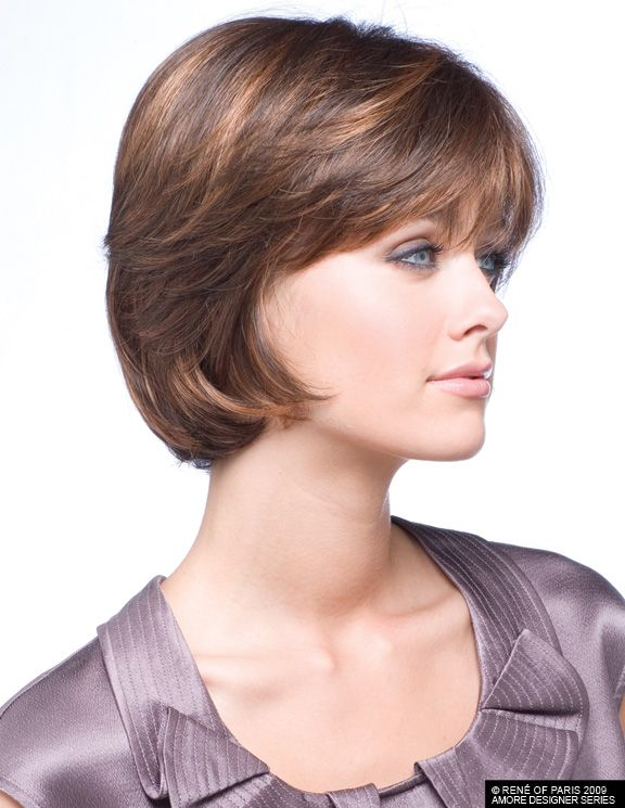 Short Carefree Hairstyles for Women | Related Pictures fringe for ...