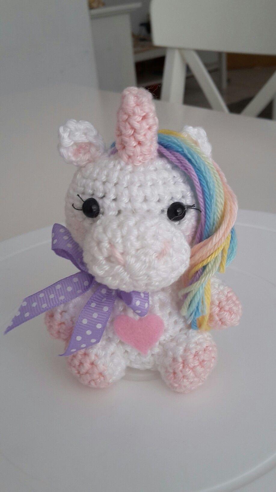 Einhorn Häkeln Häkeln Pinterest Crochet Unicorn Crochet Und