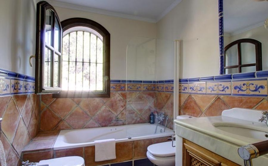 Terracotta Bathroom