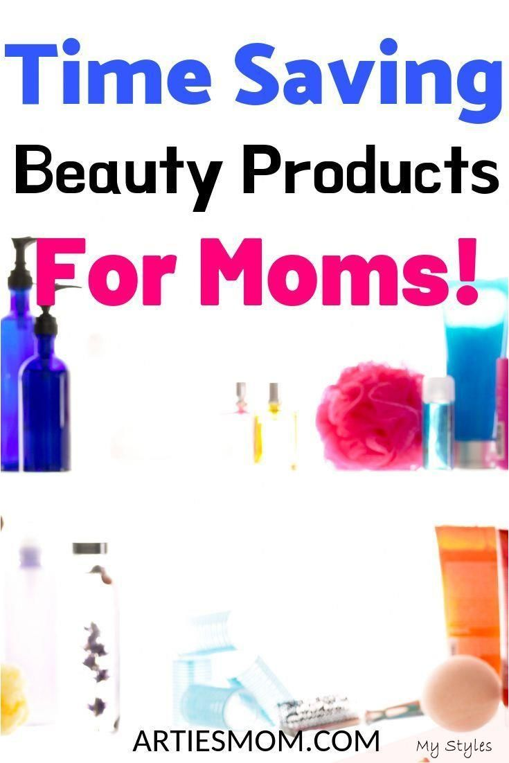 Time Saving Beauty Products For Moms - ArtiesMom.com #low #maintenance #hair #routine