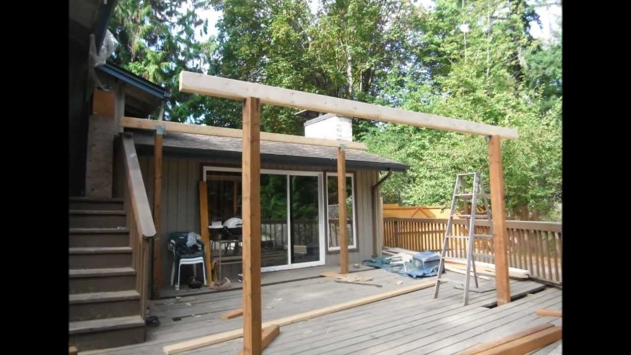 Metal Shed Roof Over Deck Patio roof, Roof styles
