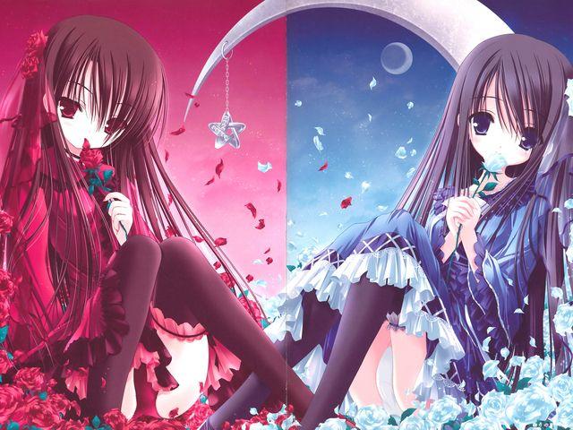 Anime Twins Photo Anime Twins Anime Anime Fantasy Anime Baby