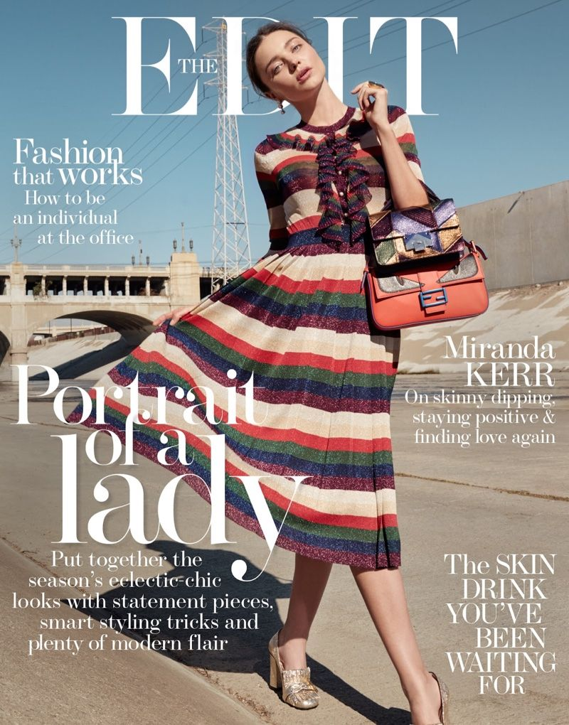 Miranda Kerr on The Edit January 2016 cover