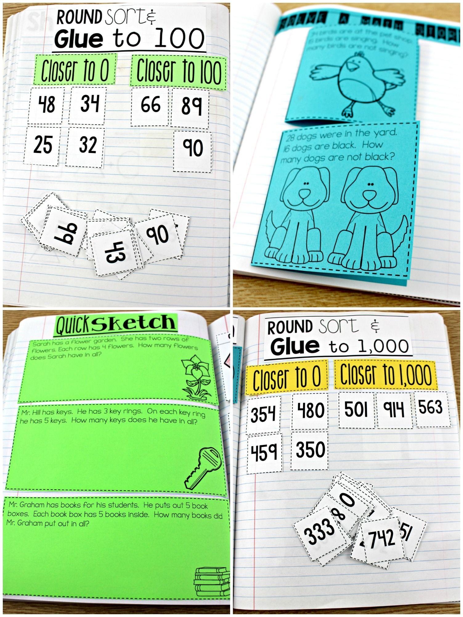 Second Grade Math Journal