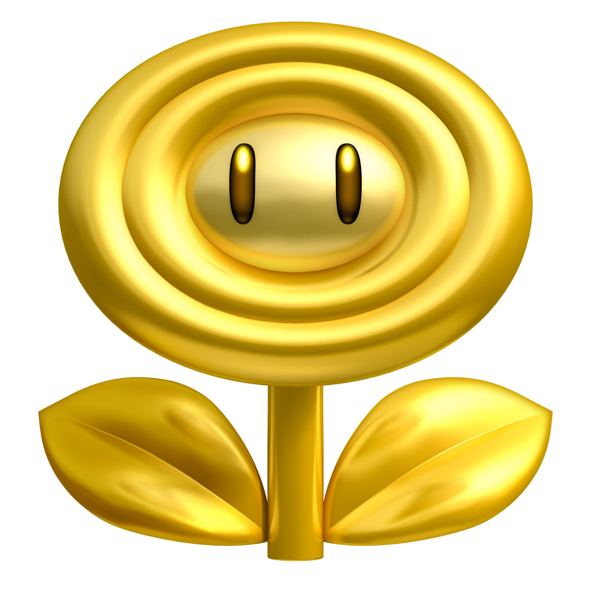 Gold Flower Characters Art New Super Mario Bros