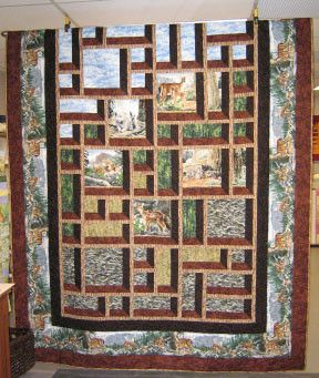 Shadow Box Quilting Pattern Free Quilt Pattern Attic Window Quilts Quilt Patterns Quilts