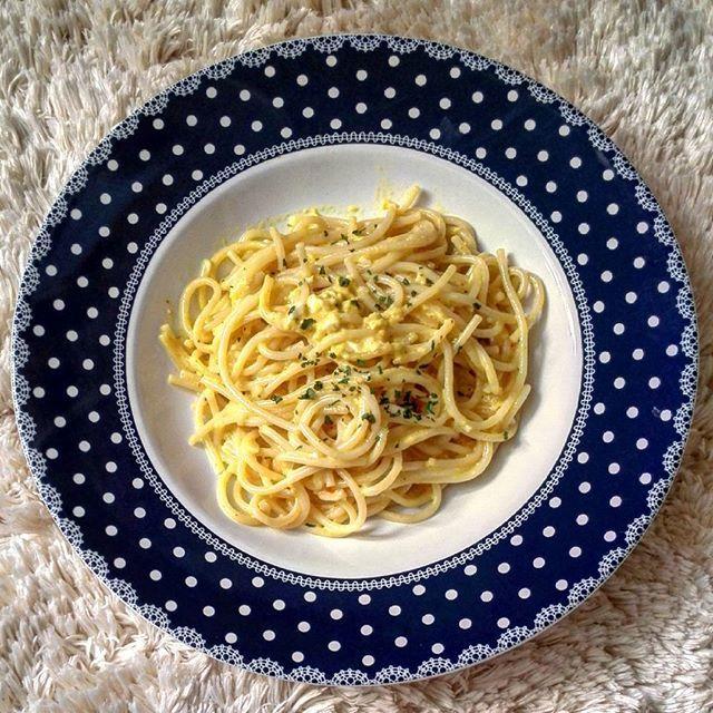 Mélange de saveur 🍴 Spaghetti à la mousse de crabe, coriandre et curry  #foodporn #saveurs #gourmandise  Yummery - best recipes. Follow Us! #foodporn
