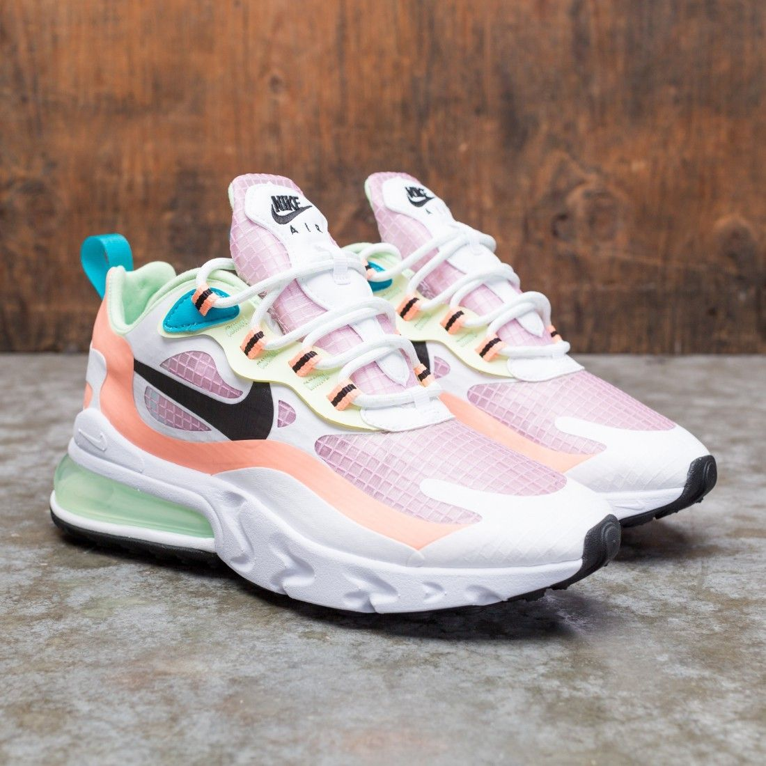 air max 270 react pink and orange